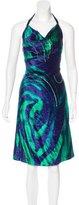 Versus Velvet Embellished Dress