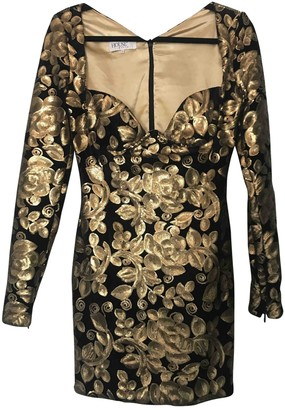 House Of CB Gold Velvet Dresses