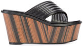 Barbara Bui crisscross strap platform sandals - women - Leather - 35