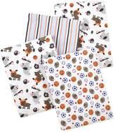 Carter's 4 Piece Flannel Receiving Blankets