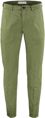 DEPARTMENT 5 Prince Stretch Cotton Tapered Trousers