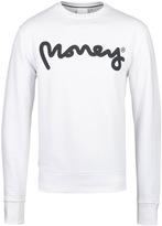 Money White Signature Ape Crew Neck Sweatshirt