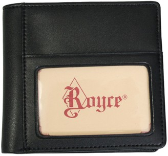 Royce Leather Royce New York Leather Double ID Hipster Wallet