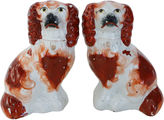 One Kings Lane Vintage Antique Staffordshire Dogs, Pair
