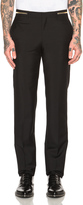 Givenchy Slim Fit Zip Waist Trousers