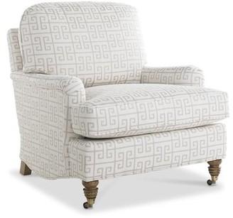 "Imagine Home Bradley 35"" W Cotton Armchair"