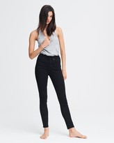 Rag & Bone Nina high-rise skinny - no fade