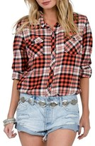 Volcom Kindling Plaid Top