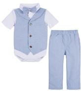 Andy & Evan Infant Boy's Shirtzie Bodysuit & Pants Set
