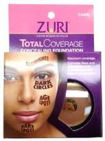 Zuri Total Coverage Concealing Foundation - Camel 4 ml