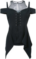 Jason Wu corset style top - women - Silk/Polyester/Spandex/Elastane/Viscose - 4