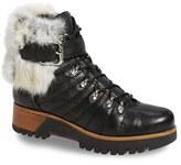 Rudsak Women's Baie Genuine Rabbit Fur Trim Winter Boot