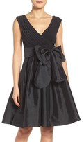 Adrianna Papell Women's Ruched Fit & Flare Dress