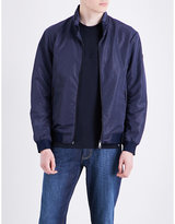 Armani Jeans Embossed-print Shell Jacket