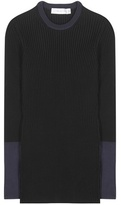 Victoria Beckham Knitted cotton-blend sweater