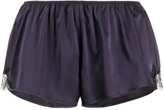 Gilda & Pearl Madame X lace trim shorts