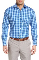 Peter Millar Men's Jewel Plaid Sport Shirt