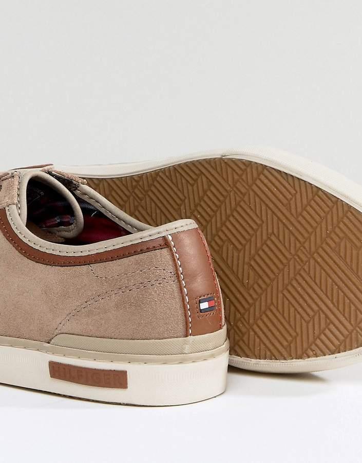 Tommy Hilfiger Harrington Sneakers Suede In Brown