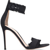 Gianvito Rossi Lola denim heeled sandals