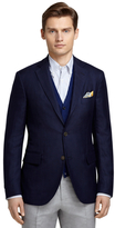 Brooks Brothers Three-Button Navy Sport Coat