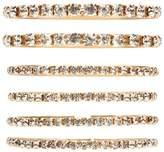 Forever 21 Rhinestone Bracelet Set