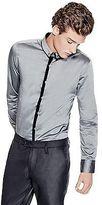 GUESS Men's Roger Sateen Shirt