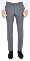 Sandro Notch Pinpoint Slim Fit Trousers