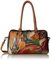 Anuschka Large Multi Comparment Satchel Butterfly GP