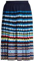Mary Katrantzou Aura Eirene-jacquard pleated skirt