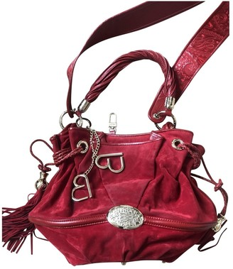Lancel Brigitte Bardot Red Tweed Handbags