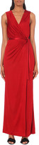 Diane von Furstenberg Taley crepe maxi dress