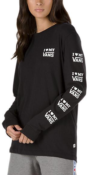 c263d5b4eb Vans Love Long Sleeve Tee