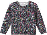 Joe Fresh Baby Girls' Floral Print Cardi, JF Midnight Blue (Size 12-18)