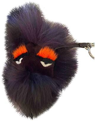 Fendi Bag Bug Purple Fur Bag charms