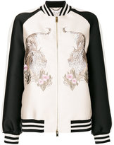 Stella McCartney Lorinda tiger-embroidered jacket - women - Silk/Cotton/Polyester/Viscose - 38