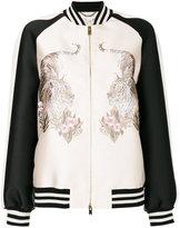 Stella McCartney Lorinda tiger-embroidered jacket - women - Silk/Cotton/Polyester/Viscose - 42