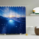 "100% Polyester Shower Curtain Shower Curtain Under the Sea -Polyester Waterproof-Dirtyproof - 66"" By 72"""