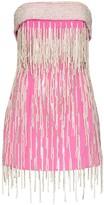 ATTICO The strapless mini dress