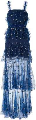 Alice McCall Cowboy Tears flared gown