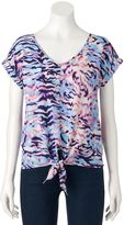 Juicy Couture Women's Knot Top