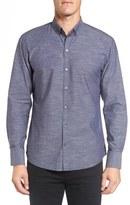 Zachary Prell 'Kayhan' Regular Fit Jacquard Sport Shirt