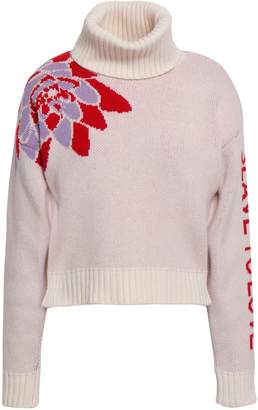 Each X Other Wool And Cashmere-blend Jacquard Turtleneck Sweater