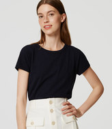 LOFT Vintage Soft Eased Up Crew Tee