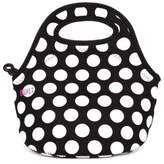 Built NY Neoprene Gourmet Getaway Mini Snack Tote in Black/White
