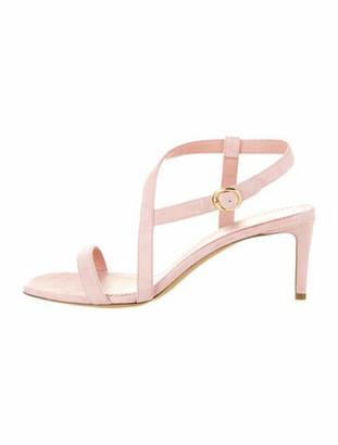 Mansur Gavriel 2019 Fino Crossover Sandals Pink