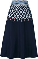 Temperley London 'Poppy Field' midi skirt - women - Cotton - 8