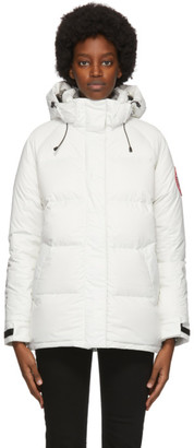 Canada Goose White Down Approach Jacket