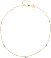 Jennifer Zeuner Jewelry Luelle Turquoise Choker Necklace