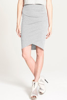 Leith Ruched Body Con Skirt