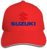 TIM-GYM Suzuki Motorcycle Logo Colorname Unisex Trucker Hats